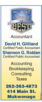 David H. Gilliland, CPA - 2012 Award, Simply the Best 2012